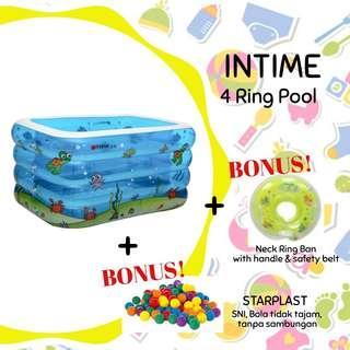 Intime 4 ring pool (sewa)