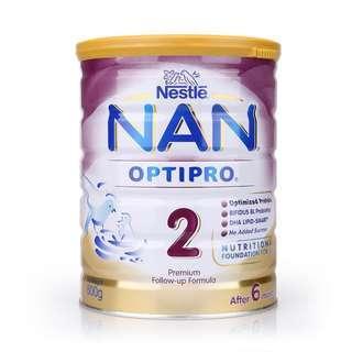🚚 (SG) Nestle Nan Optipro 2 (400gram)