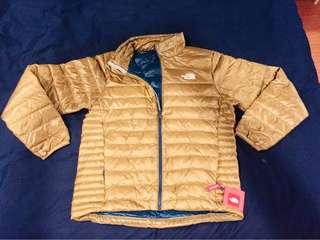 The North Face Flare jacket 550 金黃色 TNF 登山服 北臉