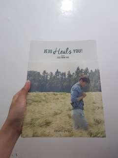 Lee min ho Innisfree photo alhum