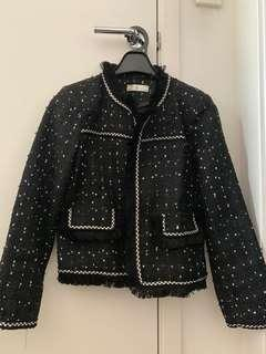 Chanel inspired tweet jacket size L (10) brand new