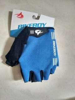 Bicycle Motorcycle Blue Hand Glove XL Size