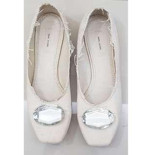 Marc Jacobs canvas flat shoes