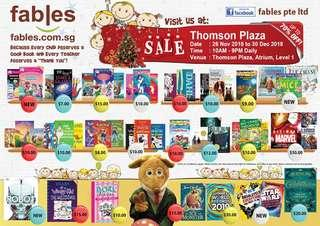 Christmas Sale at Thomson Plaza!