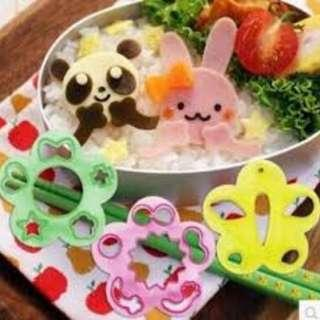 🚚 RM028 Face Expression Bento Mould Brand New Sales