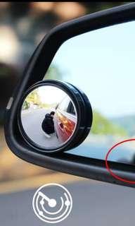 Blind spot mirror & side mirror rain shield