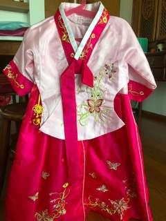 Traditional Korea Costume
