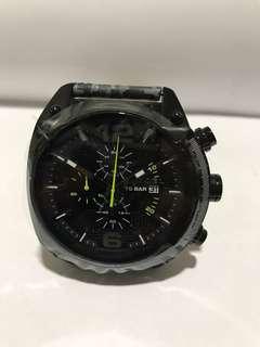 全新DIESEL迷彩皮帶手錶