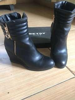 Boot Shoes Black
