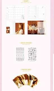 (LOOSE SET) Twice First Love (2018 Season's Greetings)
