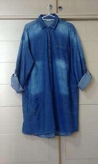Demin Woman's Top 牛仔衫