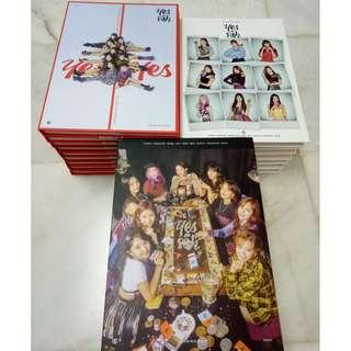 TWICE Yes or Yes Album Photocard