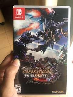 Monster Hunter Nitendo Switch
