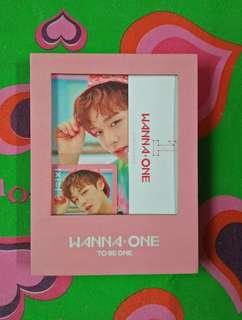 WTS Wanna One To Be One Jihoon Full Set