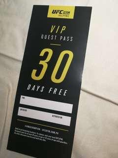 UFC Gym PH 30 day pass
