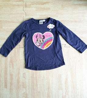 Disney minnie flip sequin