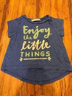 Blue Gingersnaps Printed Shirt