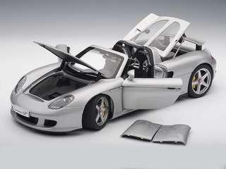 Autoart Carrera GT (Silver) 1:18