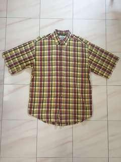 🚚 *$20*East India Company Shirt Size L Checkered