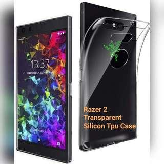 🚚 Razer 2 Transparent Silicon Case
