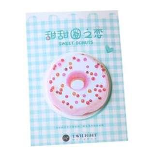 Sweet Donuts 'BLUE' Post-It Sticky Notes