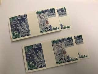 Old Notes P3 - Singapore ($1 Ship series)