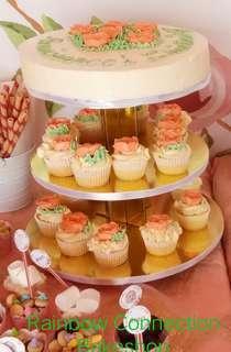 Cake-Cupcake Tower