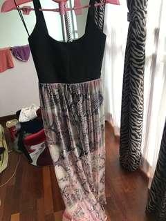 Miss selfridges snake dress