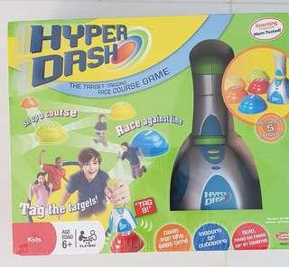 Hyper Dash - target tagging race course game.