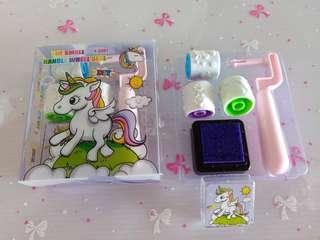 Unicorn Roller Stamper Set
