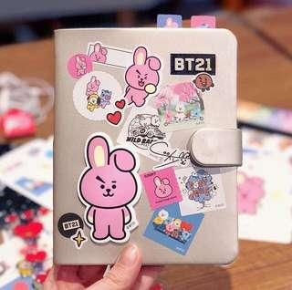 BT21 Universtar diary by monopoly