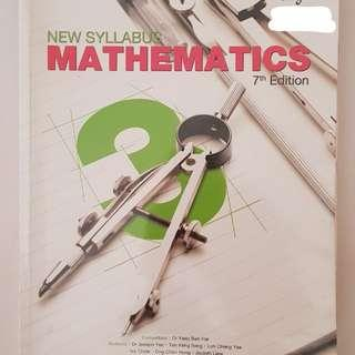 Sec 3 New Syllabus Mathematics 7th Edition
