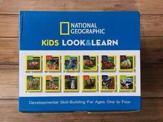 Age 0+ National Geographic Little Kids Look and Learn Series - 12 board books