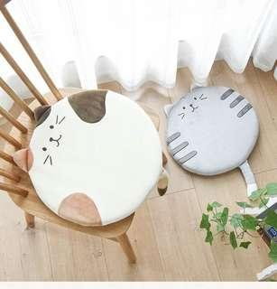 貓咪坐墊 辦公室椅墊 加厚 圓形電腦椅墊