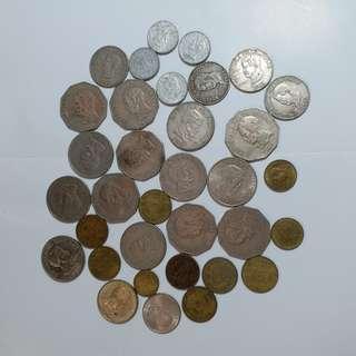 【錢幣收藏】菲律賓舊硬幣: 1983年後 Philippines old coins: post-1983