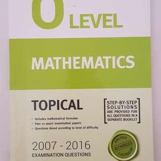 O Level EMath Topical TYS
