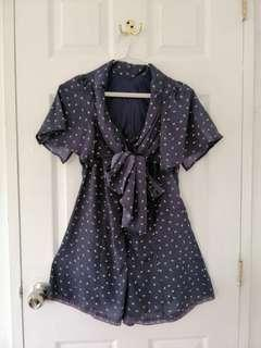 Romper Short with Sleeves