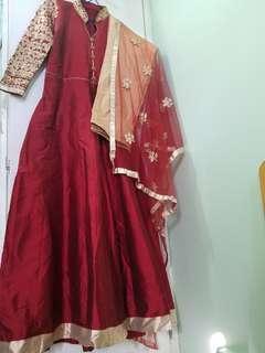 長身裙 maxi indian paki style