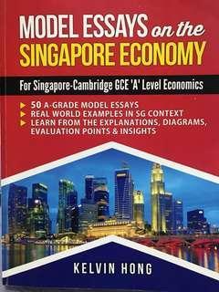 A level Economics Model Essays on SG Economy by Kelvin Hong