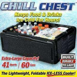 NEW  / CHILL CHEST / PROMO PRICE NOW / FREE DELIVERY / COD AVAILABLE