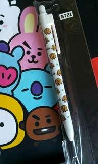 BT21 x Monopoly Gel Pen - Shooky
