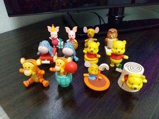 7-11winnie the pooh 一套12款