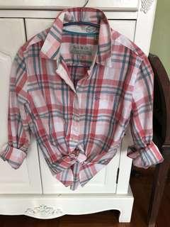 Jack Wills Plaid Shirt Size US6 M size