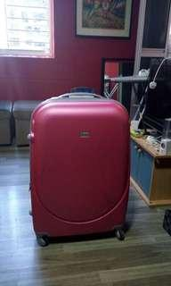 30 inch Pink Luggage