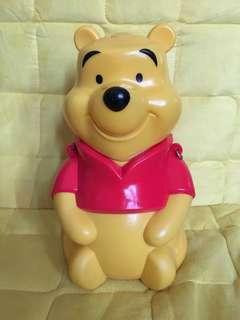 Winnie the Pooh Drinking bottle Tokyo Disneyland 90% new 東京迪士尼樂園 小熊維尼 日本小童水壺