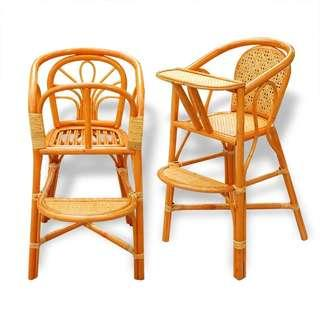Cane Baby  Chairs