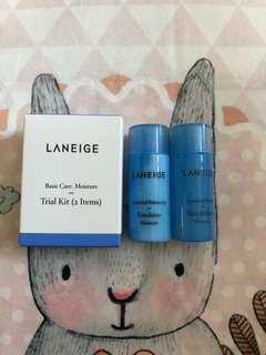 Laneige Trial Kit Basic Care Moisture