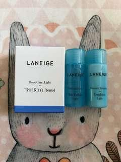 Laneige Trial Kit Basic Care Light