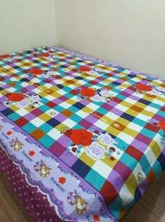 4-IN-1 QUEEN SIZE BED COVER
