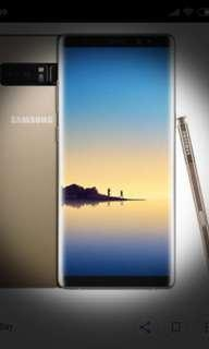 Samsung Note 8 - Maple Gold